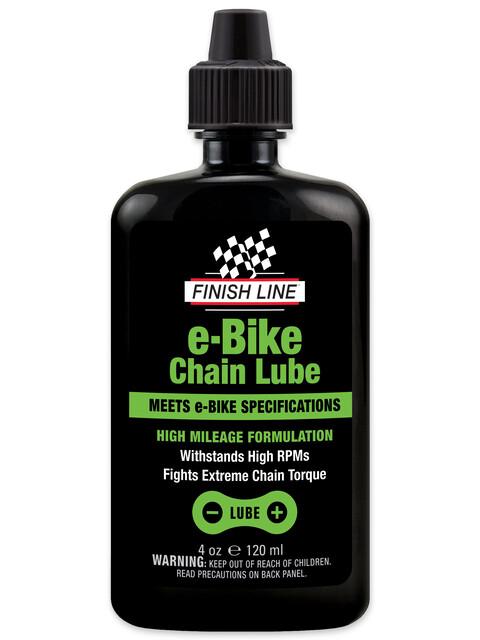 Finish Line E-Bike Kettenöl 120ml Spritzflasche